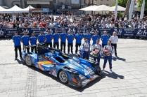 36 CAPILLAIRE Vincent (FRA) CHATIN Paul Loup (FRA) PANCIATICI Nelson (FRA) ALPINE A450-B NISSAN team Signatech Alpine action during the 2015 Le Mans 24 hours pesage, on June 8th 2015, at Le Mans circuit, France. Photo Jean Michel Le Meur / DPPI