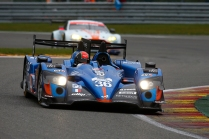 36 CAPILLAIRE Vincent (FRA) CHATIN Paul Loup (FRA) PANCIATICI Nelson (FRA) ALPINE A450-B NISSAN team Signatech Alpine action during the 2015 FIA WEC World Endurance Championship, 6 Hours of Spa from May 1st to 3rd 2015, at Spa Francorchamps, Belgium. Photo Florent Gooden / DPPI